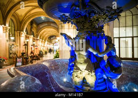 Austria, Vienna, Palais Ferstel shopping arcade, interior - Stock Photo