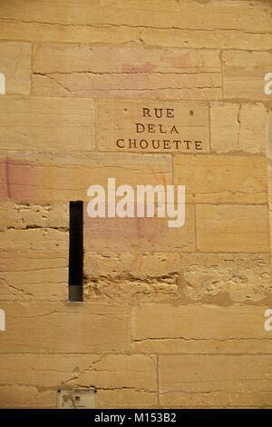 France, Cote d'Or, Cultural landscape of Burgundy climates listed as World Heritage by UNESCO, Dijon, Rue de la - Stock Photo