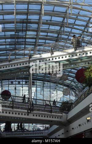 Vasco da Gama shopping mall, Lisbon, Portugal, December 2017 - Stock Photo