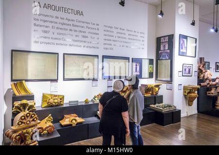 Buenos Aires Argentina el Palacio de las Aguas Corrientes Museo del Agua y de la Historia Sanitaria water pumping - Stock Photo