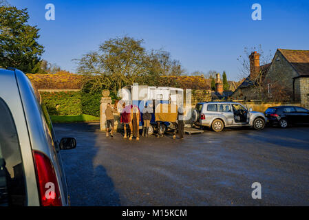 cotswold scenic england uk - Stock Photo
