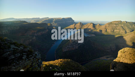 Blyde River Canyon and reservoir Blyderivierspoort Dam,Mpumalanga,South Africa - Stock Photo