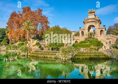 Parc de la Ciutadella, Barcelona, Spain - Stock Photo