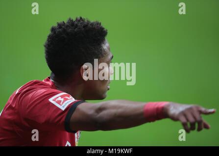 Leverkusen, Germany. 28th Jan, 2018. Leverkusen, Germany January 28 2018, Bundesliga matchday 20, Bayer 04 Leverkusen - Stock Photo
