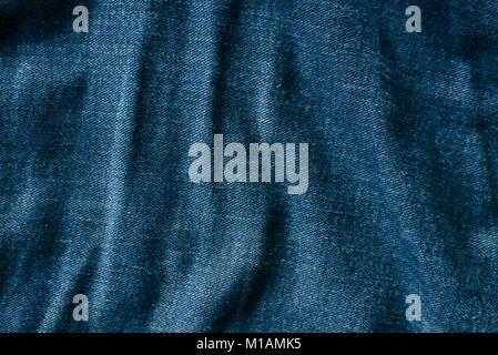 blue jeans texture background. fashion concept - Stock Photo