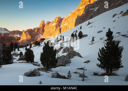 Beautiful landscape in Dolomites - Stock Photo
