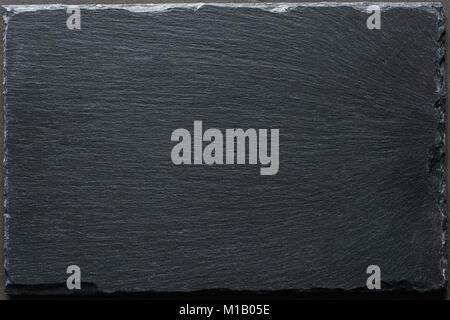 Black Slate Background Texture Table Top View Cooking Food Restaurant Menu Chalkboard