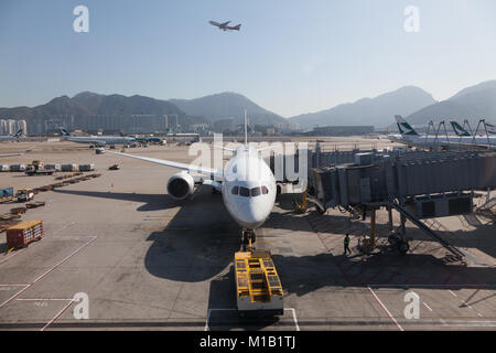 Hong Kong, China. Thursday January 11th 2018 - Stock Photo
