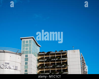 The Oracle Shopping Centre, Reading, Berkshire, England - Stock Photo