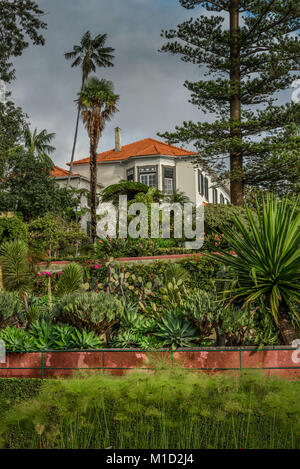 Mr House, Botanical Garden, Funchal, Madeira, Portugal, Herrenhaus, Botanischer Garten - Stock Photo