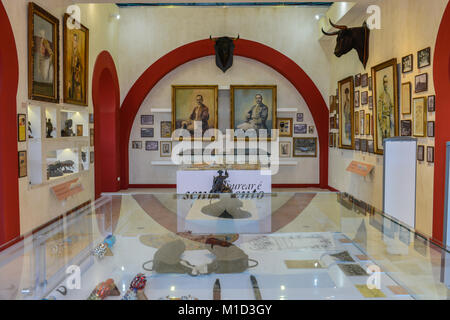 Bullfighting Museum, Campo Pequeno Bullfight Arena', Lisbon, Portugal, Stierkampfmuseum, Stierkampfarena ´Campo - Stock Photo