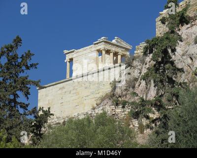Niketempel, Akropolis, Athen, Griechenland Stock Photo