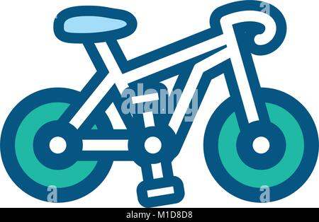 bike vector illustration - Stock Photo