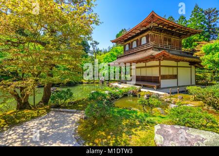 Ginkaku-ji Temple Kannon-Hall - Stock Photo