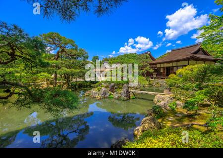 Jisho-ji Temple Kyoto - Stock Photo