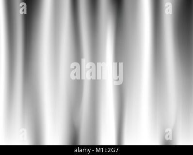 Abstract white background Vector White Satin Silky Cloth Fabric Textile Drape with Crease Wavy Folds. with soft - Stock Photo