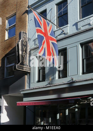 Quo Vadis restaurant in Soho London - Stock Photo