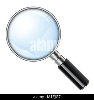 Magnifying Glass, Magnifier - Stock Photo