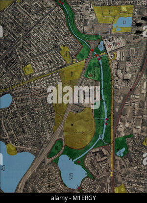 Alewife Reservation and Alewife Brook master plan (2003) (17923139186) - Stock Photo