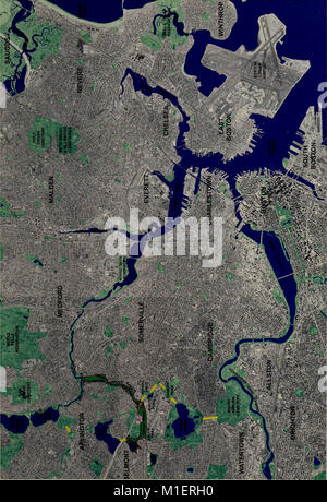 Alewife Reservation and Alewife Brook master plan (2003) (17950191821) - Stock Photo