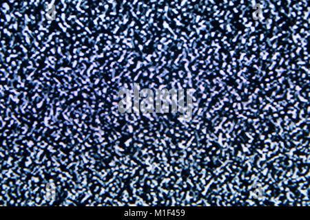 Noise tv screen pixels interfering signal.