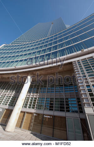 palazzo lombardia, project by pei cobb freed Et partners, milan - Stock Photo