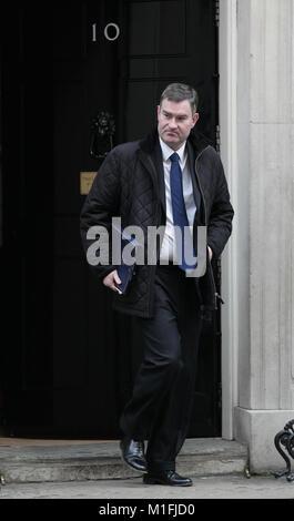 London, UK. 30th January, 2018. David Gauke Lord Chancellor seen leaving 10 Downing street, London, UK Credit: RM - Stock Photo