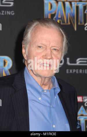 Jon Voight  01/29/2018 The World Premiere of 'Black Panther' held at The Dolby Theatre in Los Angeles, CA  Photo: - Stock Photo