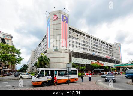 Centrepoint shopping centre, Kota Kinabalu, Sabah, Borneo, Malaysia - Stock Photo