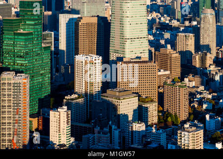Office Buildings City View - Stock Photo
