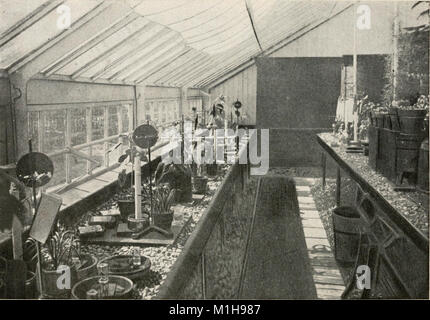 A laboratory course in plant physiology, especially as a basis for ecology; (1901) (14589637838) - Stock Photo