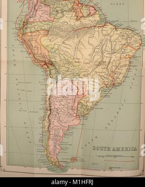 Political map of South America Stock Vector Art & Illustration ...