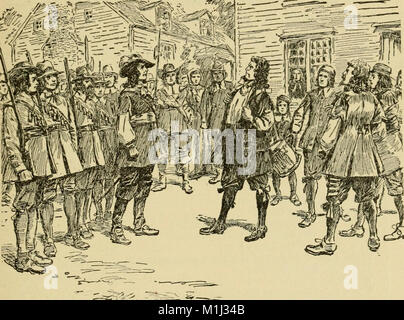 A young people's history of Virginia and Virginians (1896) (14590962230) - Stock Photo