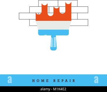Home Repair Vector Icon - Stock Photo