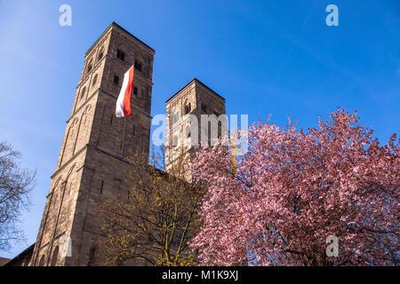 Germany, Cologne, church St. Heribert in the district Deutz.  Deutschland, Koeln, Kirche St. Heribert im Stadtteil - Stock Photo