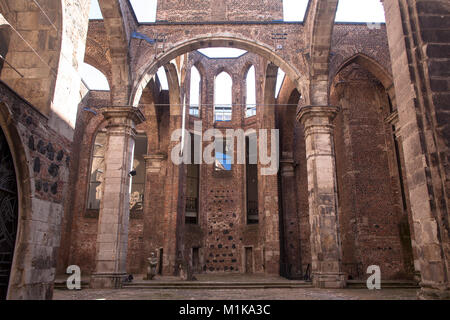 Germany, Cologne, the church ruin Old St. Alban in the old part of the town.  Deutschland, Koeln, die Kirchenruine - Stock Photo