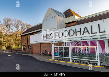 Marks And Spencer Food Stores In Norfolk