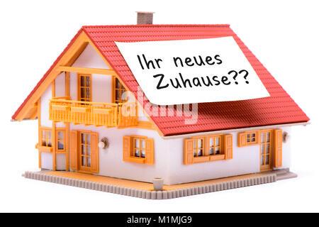 Haus zu verkaufen - Stock Photo