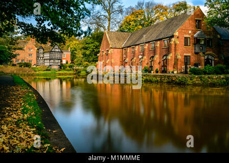 Bridgewater Canal, Worsley - Stock Photo