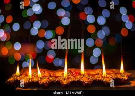 Diwali - The Festival of Lights - Stock Photo