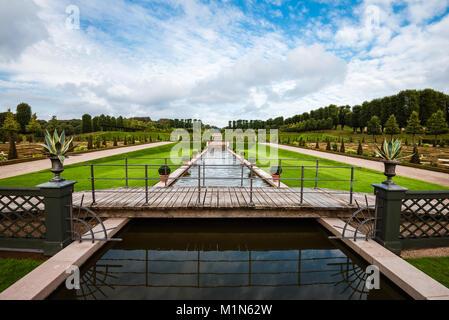 Frederiksborg Park View - Stock Photo