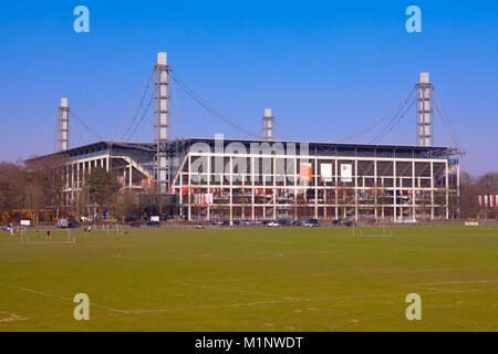 Germany, Cologne, the Rhein-Energie Stadium, formerly known as Muengersdorfer Stadium.  Deutschland, Koeln, das - Stock Photo