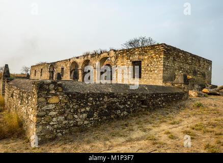 The fortress of Massangano, Cuanza Norte, Angola, Africa - Stock Photo