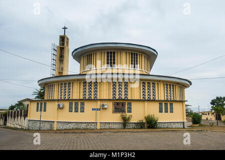 St. Mary's Cathedral, Libreville, Gabon, Africa - Stock Photo