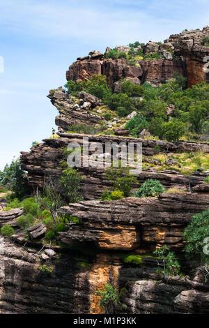 Burrunggui (Nourlangie Rock), Kakadu National Park, UNESCO World Heritage Site, Northern Territory, Australia, Pacific - Stock Photo