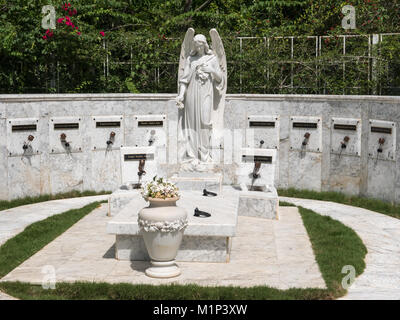 Birán, Cuba - September 1, 2017: Memorial of Fidel Castro's family. - Stock Photo