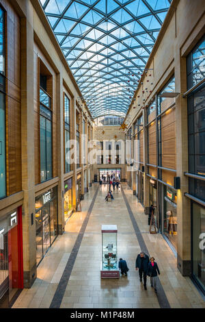 Grand Arcade shopping Mall, Cambridge, Cambridgeshire, England, United Kingdom, Europe - Stock Photo
