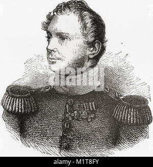 Frederick William IV, 1795 - 1861.  King of Prussia from 1840 to 1861.  From Ward and Lock's Illustrated History - Stock Photo