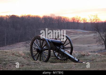 East Cemetery Hill, Gettysburg - Stock Photo