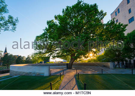Oklahoma City, Oklahoma, USA. - Stock Photo
